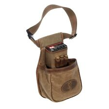 BROWNING SANTA FE DELUXE LEATHER FIELD CARRY BAG POUCH TRAP HUNTING FOR SHOTGUN