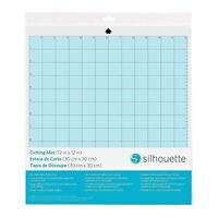 Silhouette Cameo Replacement Cutting Mat 12X12 Blue Tacky Surface Cut Craft NEW