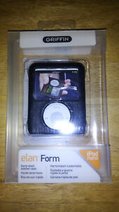 Griffin Elan Form Hard-Shell Leather Case for Apple iPod nano 3rd Generation