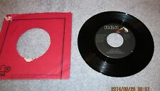 ORIGINAL RCA 45 RPM  ELVIS PRESLEY 1977 WAY DOWN/PLEDGING MY LOVE