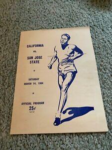1964 San Jose State Spartans v California Bears Track & Field Program