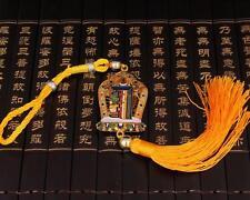 Tibetan Tibet Buddhist Kalachakra Sidpaho Plating Tantric  Amulet Car Pendant