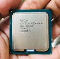 Intel Xeon E5-2430 V2 CPU 2.50GHz 6-Cores 15MB LGA1356 SR1AH Server Processor