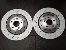 Pair of Audi R8 07-16 Genuine Front Brake Brake Discs, 365mm x 34mm - 420615301D