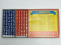 Stratego Vintage Board Game 1982 MB Games Strategy Game In Original Box Complete