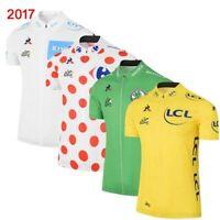 2017 New tour de france Racing shirt men cycling jersey summer MTB bike tops P03