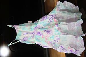 Kids Clothing (new) ROMPER - SURF CITY TIEDYE, MAXI SKIRT WALK-THRU  L (10/12)
