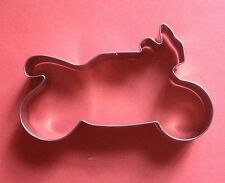 Vehicle Motorcycle baking pastry fandont metal stainless steel cookie cutter