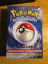 Italian COMPLETE Pokemon 2-PLAYER STARTER SET Card THEME DECK Machamp 1st ed TCG