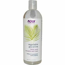 Glycérine Végétale - 473ml par Now Solutions - Adoucit, Nettoie & Hydrate