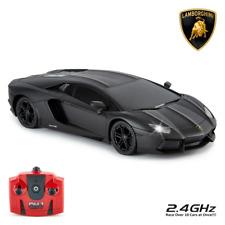 Lamborghini Aventador Radio Controlled Car 1:24 Scale Black   OFFICIAL