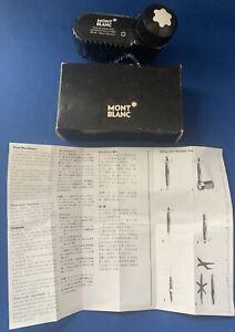 Montblanc Fountain Pen Ink Refill Bottle 50 ml, Mystery Black, item #39100.BLA