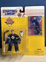 VINTAGE 90s Felix Potvin Starting Lineup Figure 1995 Toronto Maple Leafs Hockey