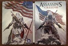 ASSASSINS CREED III AC3 LIMITED COLLECTOR'S FREEDOM EDITION STEELBOOK G1