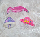 PRE-OWNED (Barbie) KELLY TOMMY DOLL SIZE ACCESSORY LOT OF HATS MAY NEED CLEANED