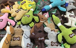 NEW RANGE Dog Puppy Chew Treat Doggy Toy Play Sound Teething Genuine Crufts