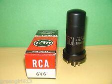 Metal RCA 6V6 Vacuum Tube Results = 3700 µmhos 36 mA