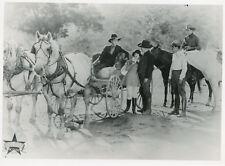 UNIDENTIFIED SILENT MOVIE 20s WESTERN COWBOY 8 VINTAGE PHOTOS ORIGINAL  LOT