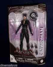Batman Arkham Trilogy Asylum City Knight CATWOMAN Action Figure 07 DC DIRECT