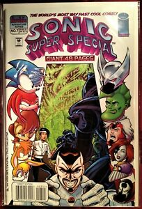 SONIC The HEDGEHOG SUPER SPECIAL Comic Book 1999 #7 PARALLEL PARADIGM Bagged MT