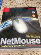 Genius NetMouse Serial & PS2 Mouse w Magic Scroll Button DOS/ WIN, NIB