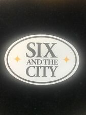 SIX AND THE CITY PITTSBURGH PITTSBURGHESE STICKER 412 PITT RARE! YINZER STEELERS