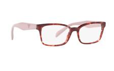 PRADA VPR 18T 53-16 UE0-1O1 140 women's eyeglasses glasses frame Havana Pink NEW