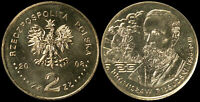Pologne. 2 Zloty. 2008 (Pièce KM#Y.648 Neuf) Bronislaw Pilsudski