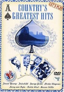 COUNTRY'S GREATEST HITS - COUNTRY FAVOURITES 20 SONG DVD - FREE POST UK