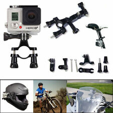 Black Bike Handlebar MOUNT for Gopro Hero 3 2 1 HD Camera Seatpost Pole Roll Bar