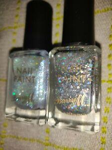 Bundle of 2 x Barry M Nail Paint Diamond Glitter & Whimsical Dreams New
