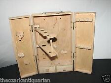 Vintage Gilbert Chemistry set ? wood box tool kit woodworking unknown
