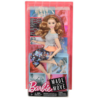 Barbie FTG84 Made to Move Curvy Doll with Auburn Hair