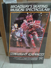 "STARLIGHT EXPRESS (BROADWAY) Movie POSTER Board 14"" x 22"" + HARD PLASTIC COVER"