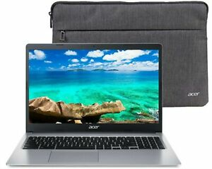 "🔥NEW Acer 315 Chromebook 15.6"" HD Intel N4000 4GB Ram 32GB eMMc + Bonus Sleeve"