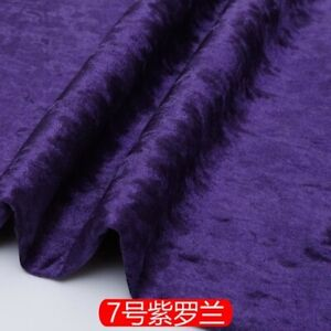 Soft Pillow Cushion Flock Velvet Upholstery Materia Ice Flannell Sofa Fabric