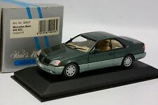 Minichamps 1/43 - Mercedes 600 SEC Verte