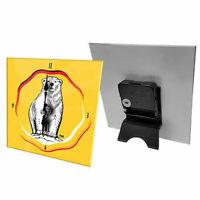 Bundaberg Rum - Desk Clock - 15x15x4cm - Rugby League - Gift Boxed