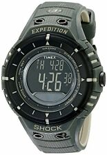 Timex Mens T49612 Expedition Shock Digital Compass Olive Black Resin Strap Watch