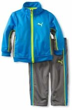PUMA BABY BOY'S COLORBLOCK TRICOT CLOTHING SET,CHECK COLOR & SIZE