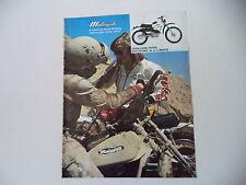 advertising Pubblicità 1976 MOTO MALAGUTI CAVALCONE CROSS 50