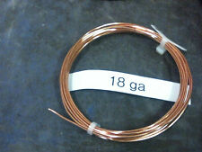 10ft 18g UNTINNED copper lashing wire from Western Electric office