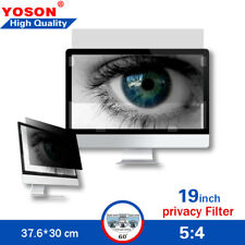 """19"""" Privacy Filter for Standard Screen Desktop LCD Monitor 5:4 Ratio"""