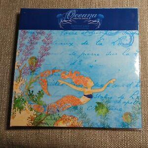 Oceana 8x8 Instant Album Scrapbooking Just Add Photos! Mermaids Beach Vacation