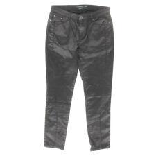 NEW Womens Lauren Ralph Lauren Black Coated 'MOTO SKINNY' Jeans AU 12 W30 L28