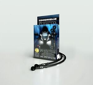 Goodridge Shadow Course Tuyaux de Frein Avant pour Suzuki GSXR750 J 88