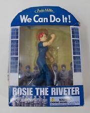 Archie McPhee Rosie the Riveter Action Figure In Original Packaging