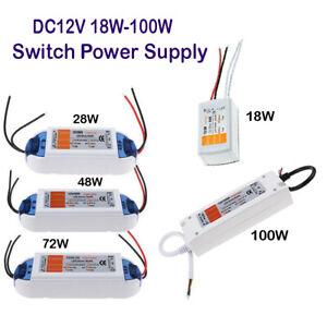 AC 240V to DC 12V - LED Driver Switch Power Supply Transformer for Stock UK