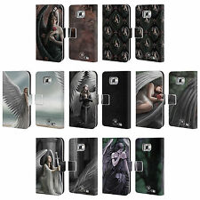 OFFICIAL ANNE STOKES ANGELS LEATHER BOOK WALLET CASE COVER FOR SAMSUNG PHONES 2