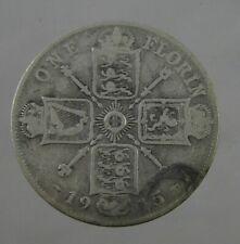 1915 Florin - George V .925 Silver coin